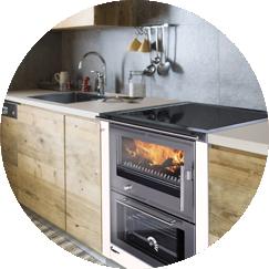 Beautiful cucina a legna e gas photos ideas design - Cucine corradi rivenditori ...